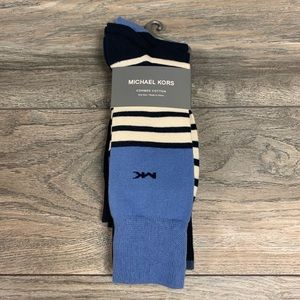 Michael Kors Combed Cotton Mens Socks